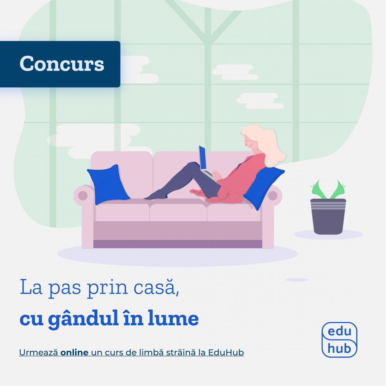 Concurs EduHub: câștigă cursuri gratuite