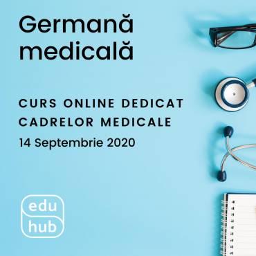 Germană medicală – curs nou online