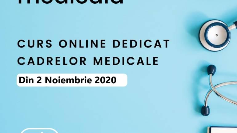 Germană medicală – curs nou online din 2 noiembrie