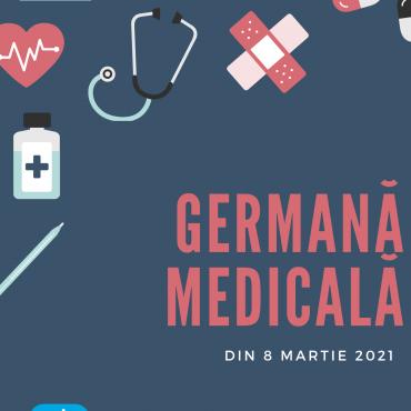Germană medicală – curs nou online din 8 martie